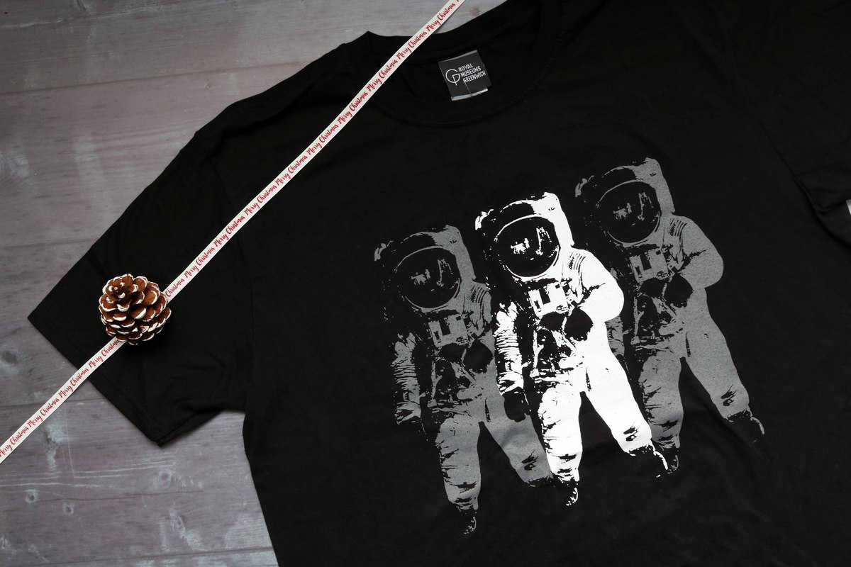 Moon Landing t-shirt from Royal Museums Greenwich