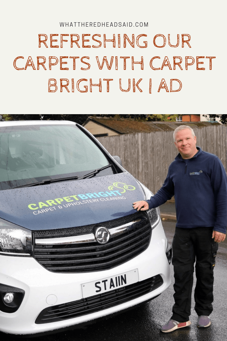 Refreshing our Carpets with Carpet Bright UK | AD