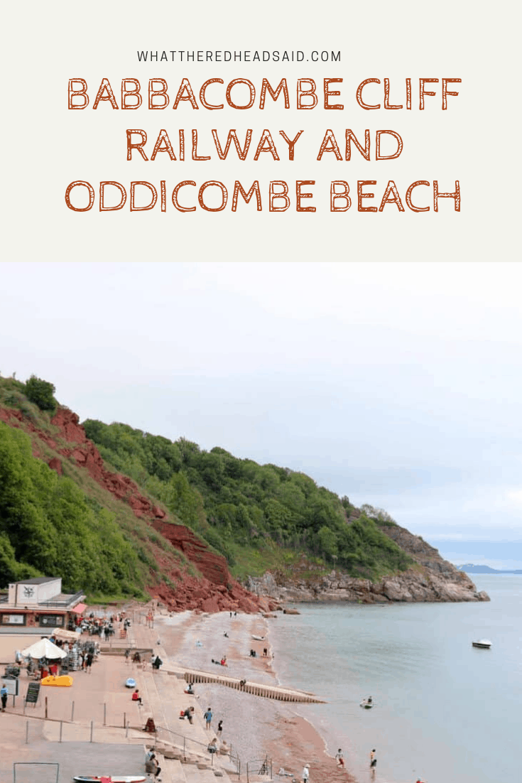 Babbacombe Cliff Railway and Oddicombe Beach