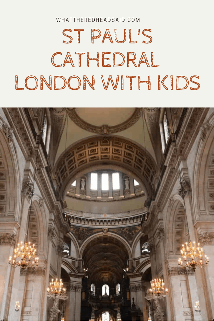 St Paul's Cathedral - London with Kids