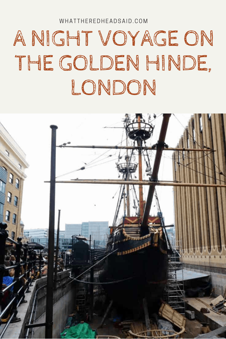 A Night Voyage on the Golden Hinde, London