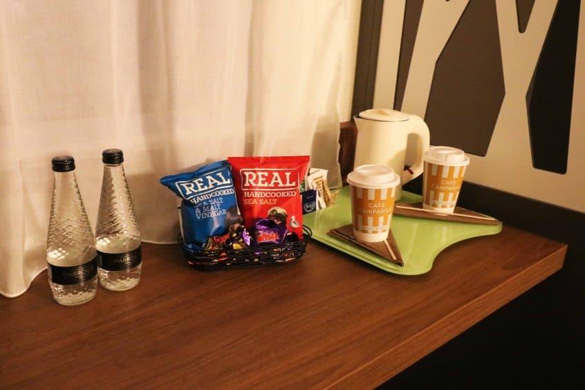 Campanile Birmingham tea and coffee