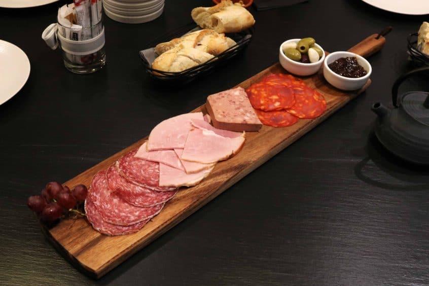Campanile Birmingham sharing meat board