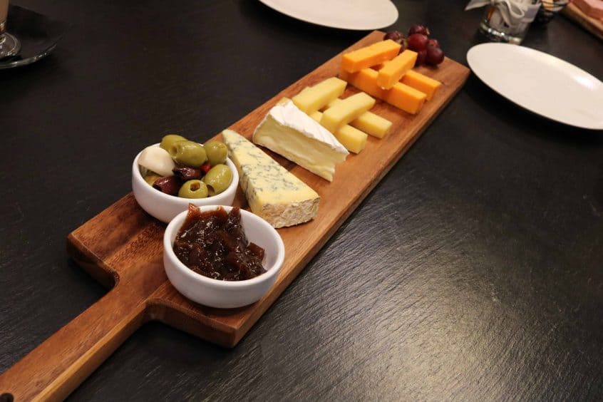 Campanile Birmingham sharing cheese board