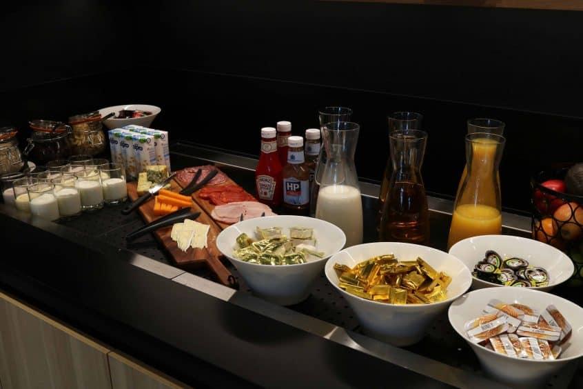 Campanile Birmingham continental breakfast options