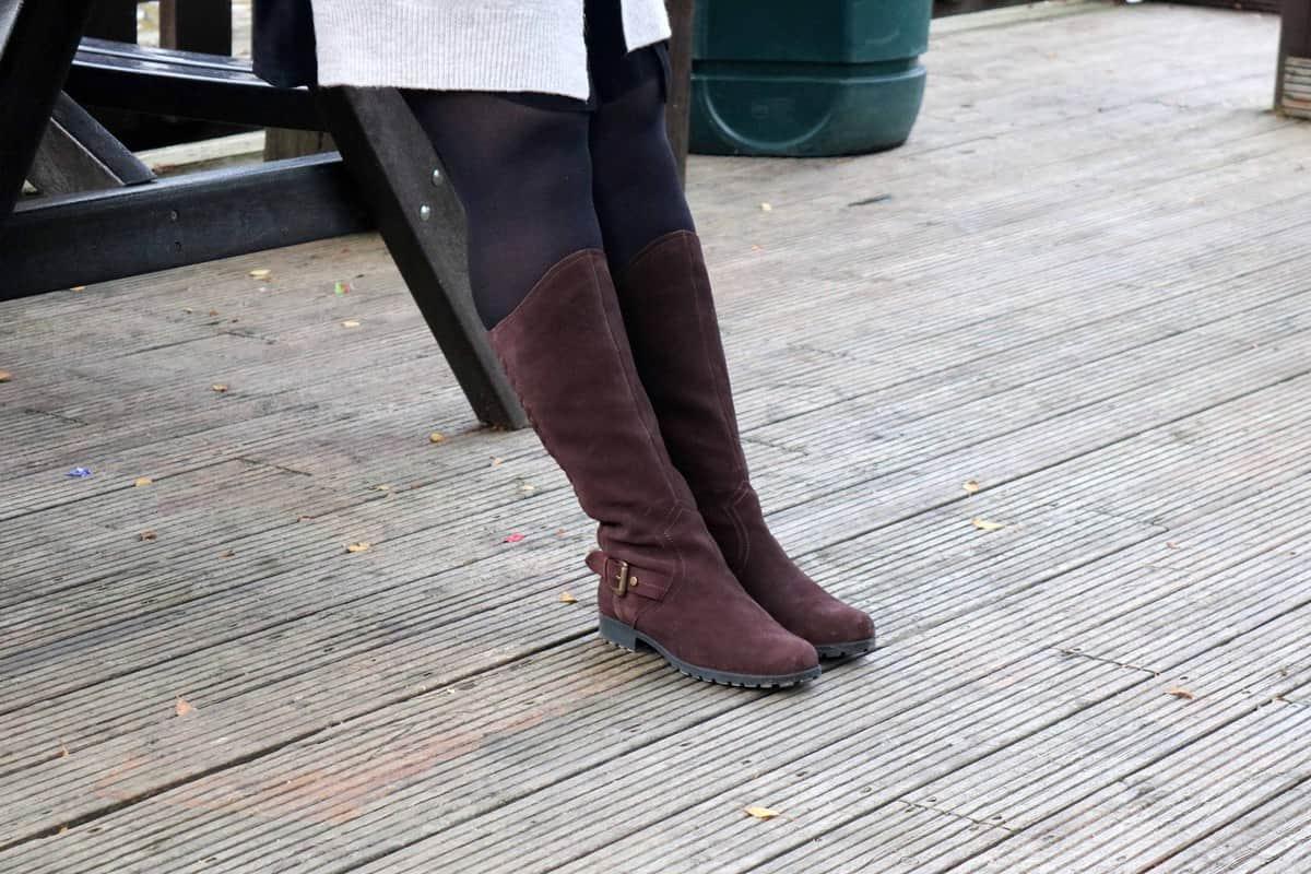 Chocolate Sandringham Boots