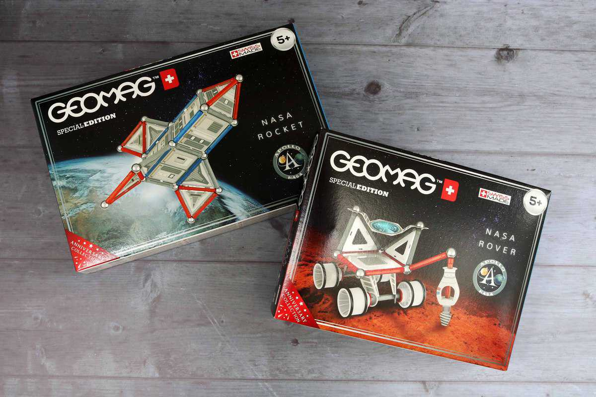 Geomag NASA Rocket and Rover Review and Giveaway!