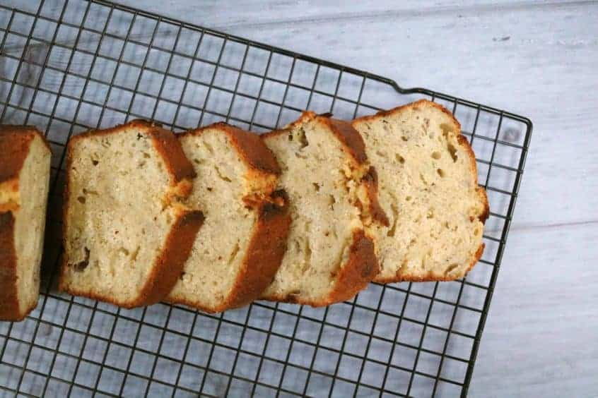 Banana Bread Sliced Loaf
