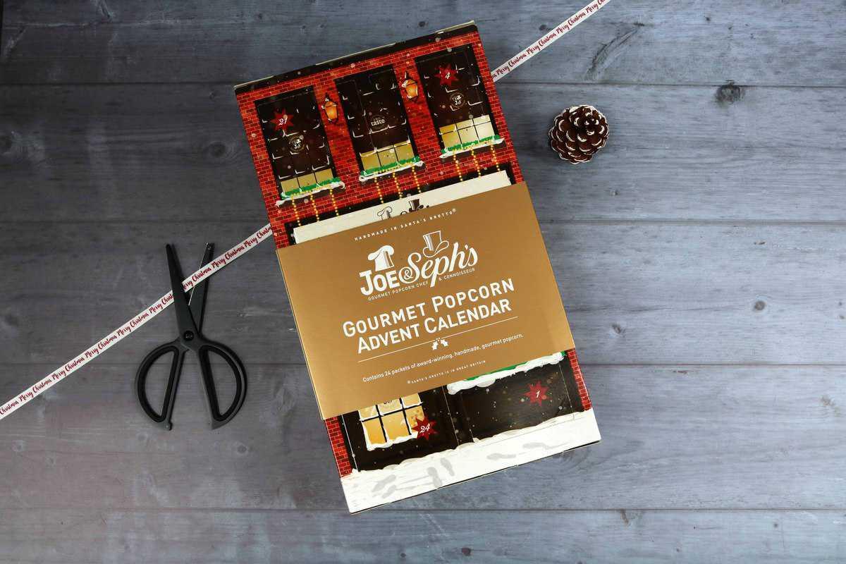 Joe & Seph's Gourmet Popcorn Advent Calendar from The Present Finder