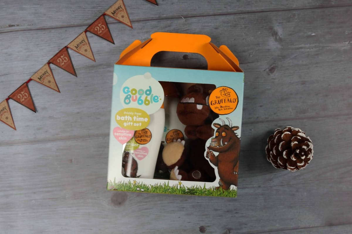 Good Bubble Gruffalo gift set