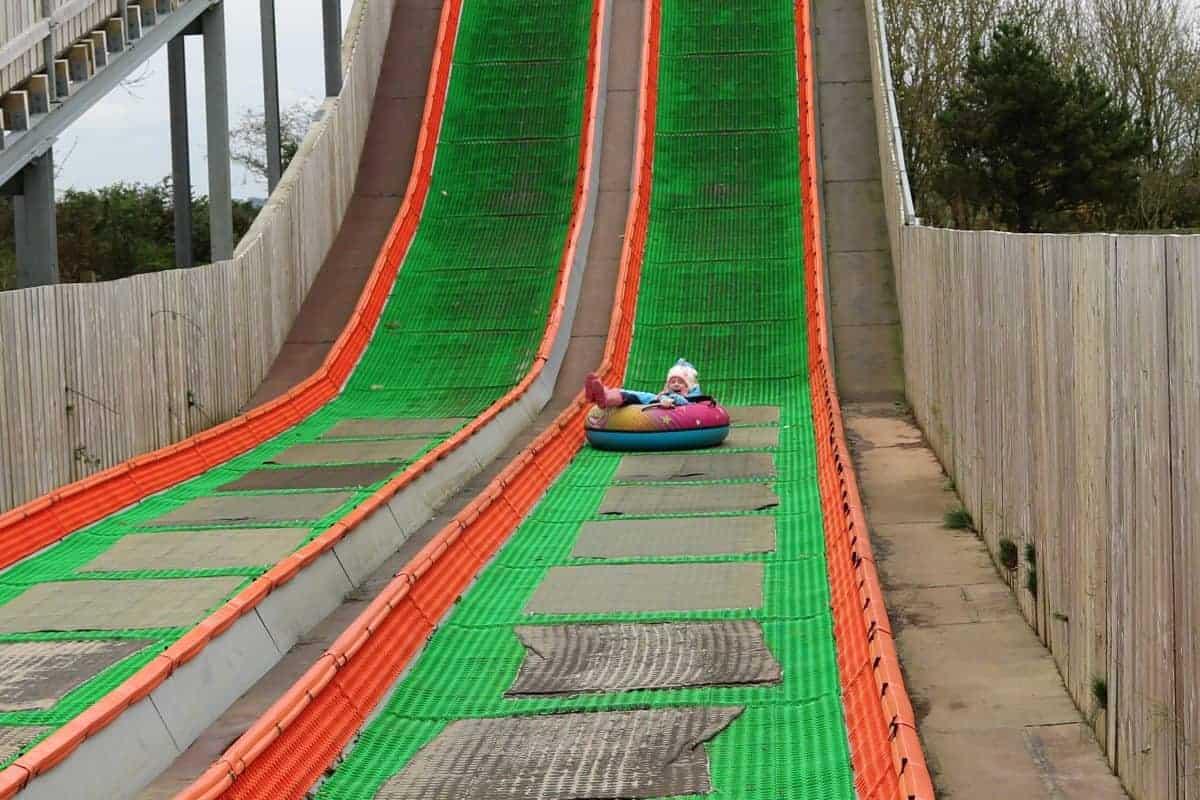 The Milky Way Adventure Park - Devon Gravity Rider Slide