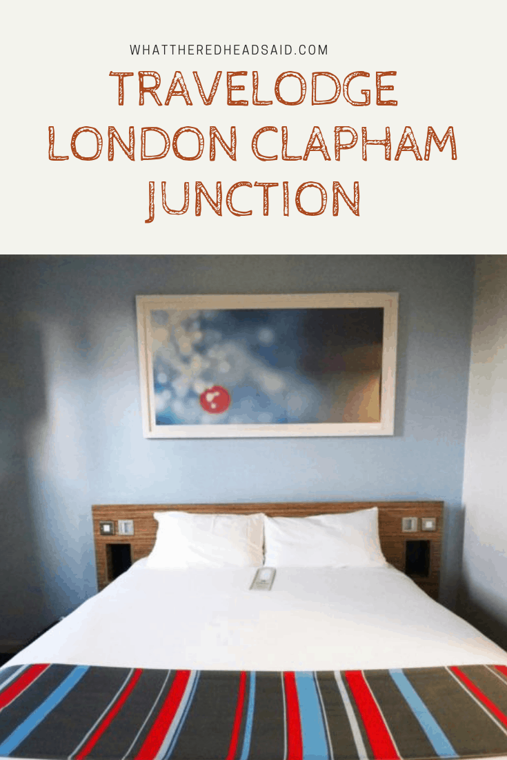 Staying at Travelodge London Clapham Junction