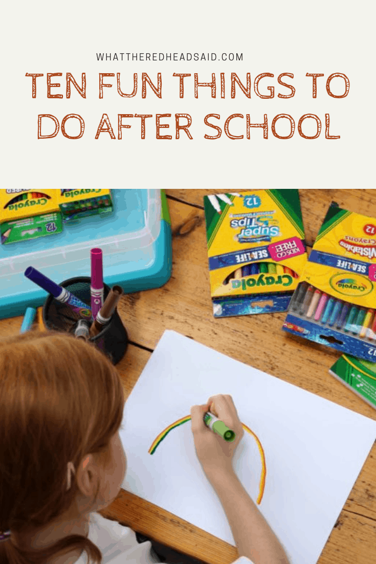 Ten Fun Things To Do After School | AD