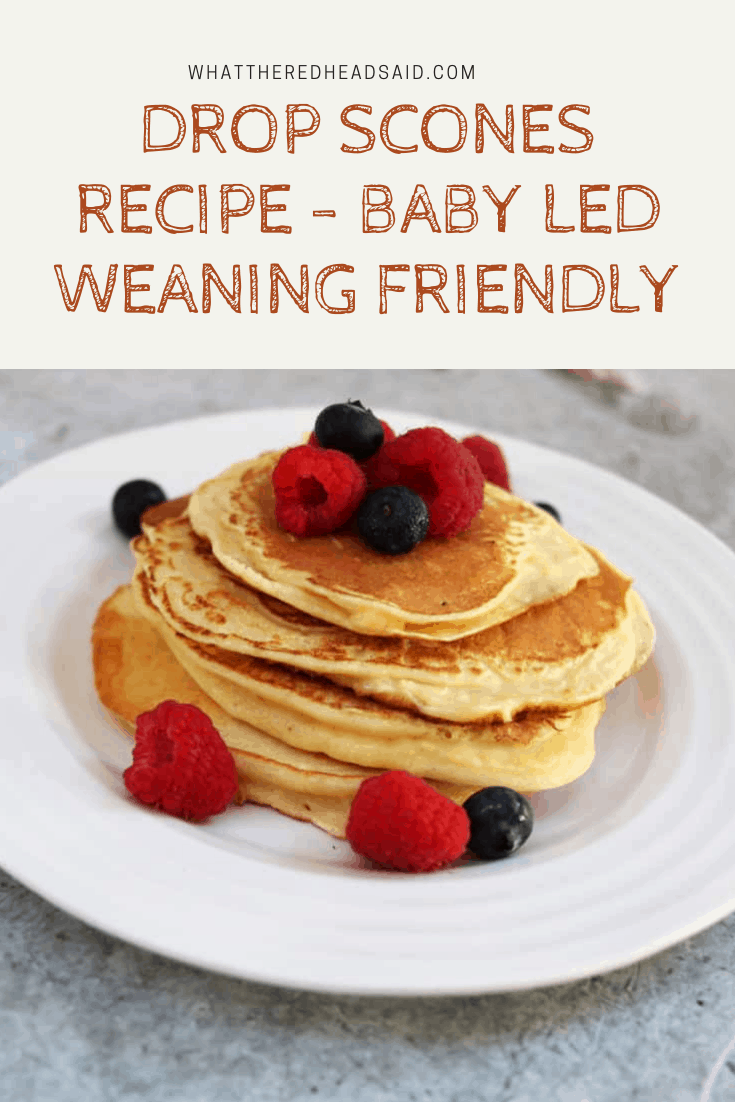 Drop Scones Recipe - Baby Led Weaning