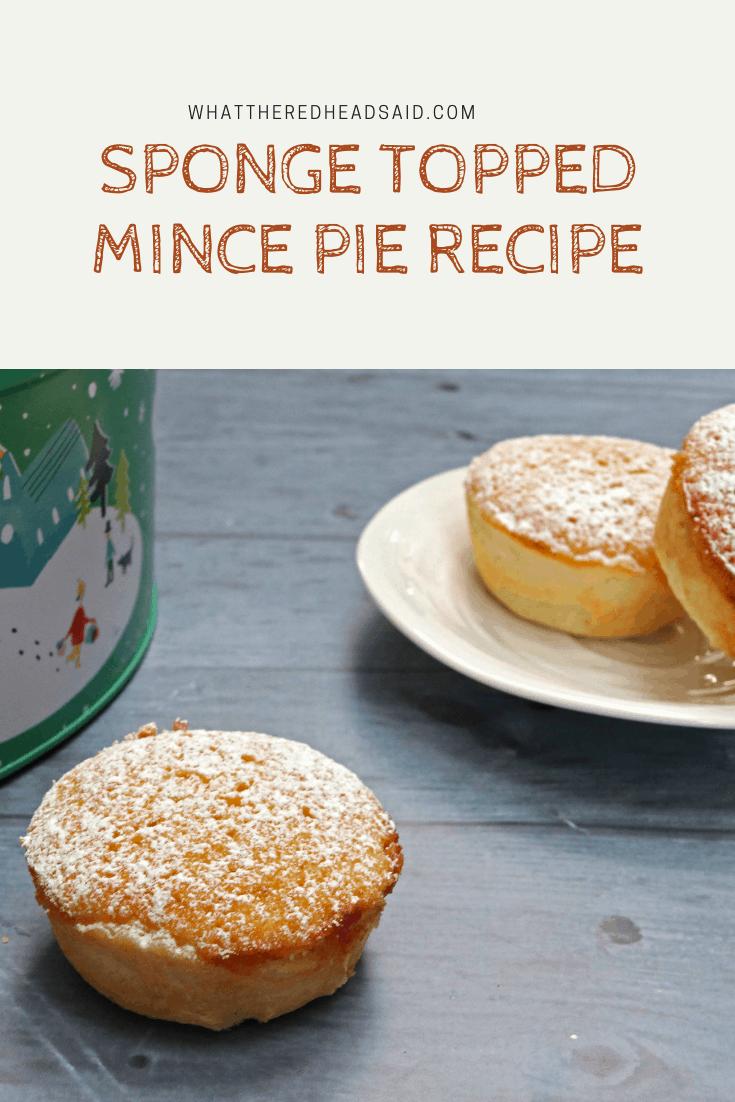 Sponge Topped Mince Pie Recipe