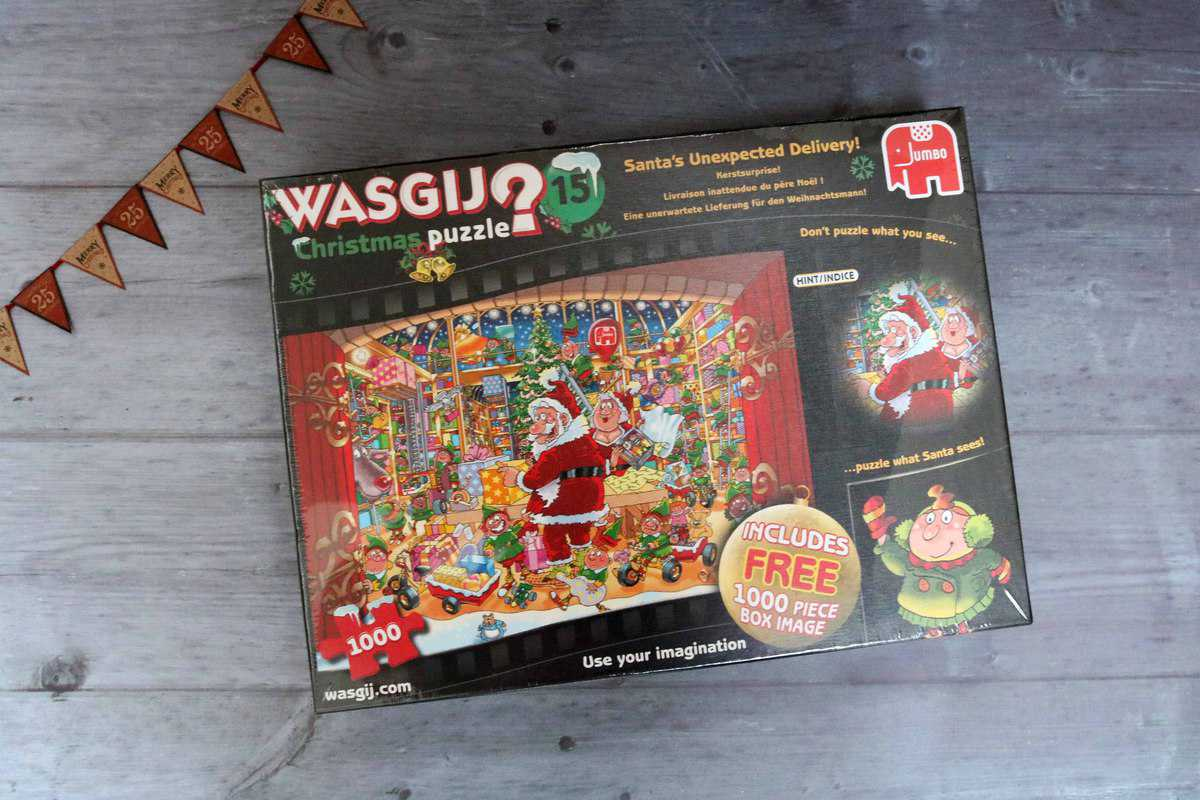 Wasgij Christmas Puzzle
