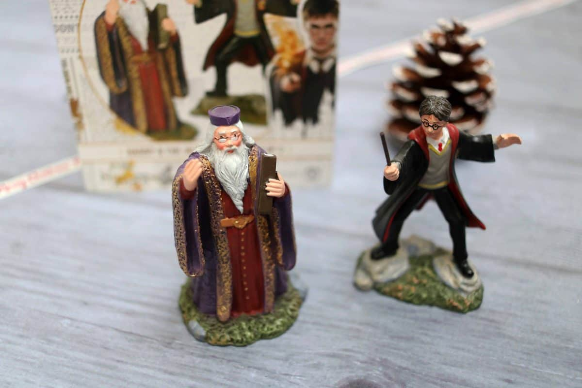 range of Harry Potter miniature scale replicas from Department 56