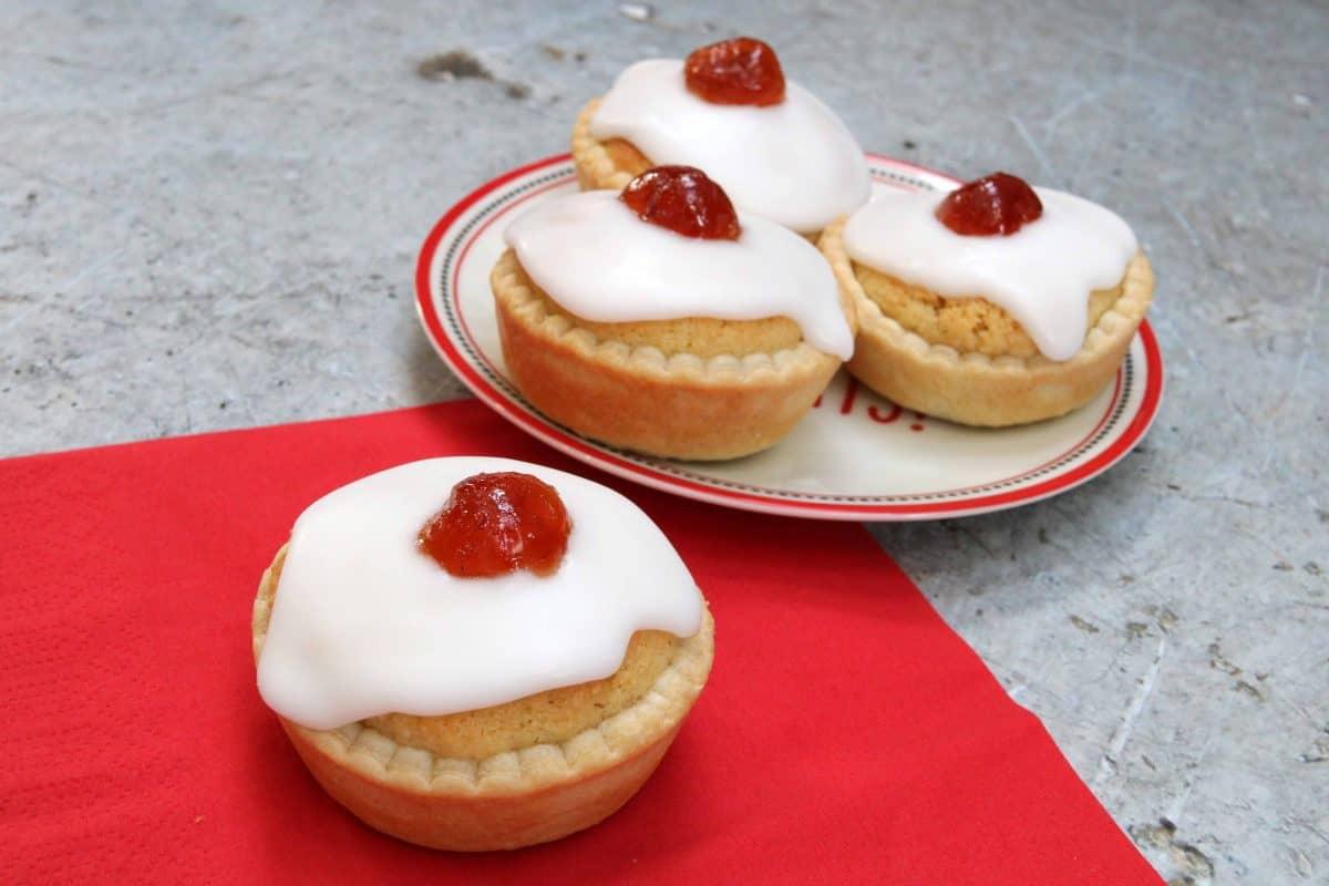Mince Pie Bakewell Tarts