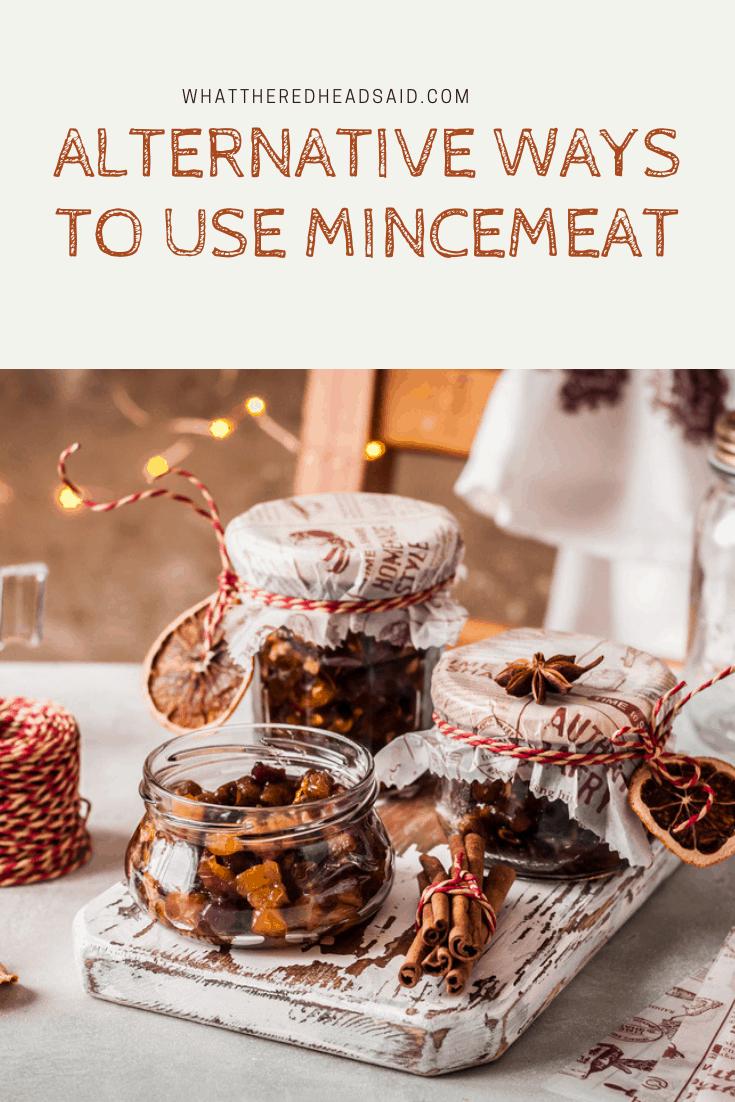 Alternative ways to use Mincemeat