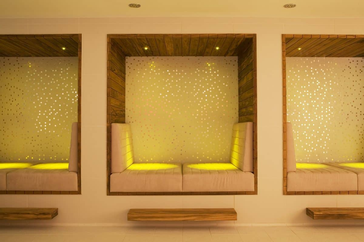 K West Hotel Spa loungers