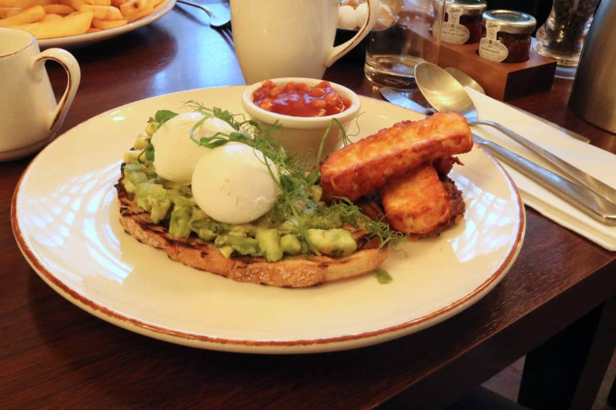 K West Hotel and Spa full vegetarian breakfast