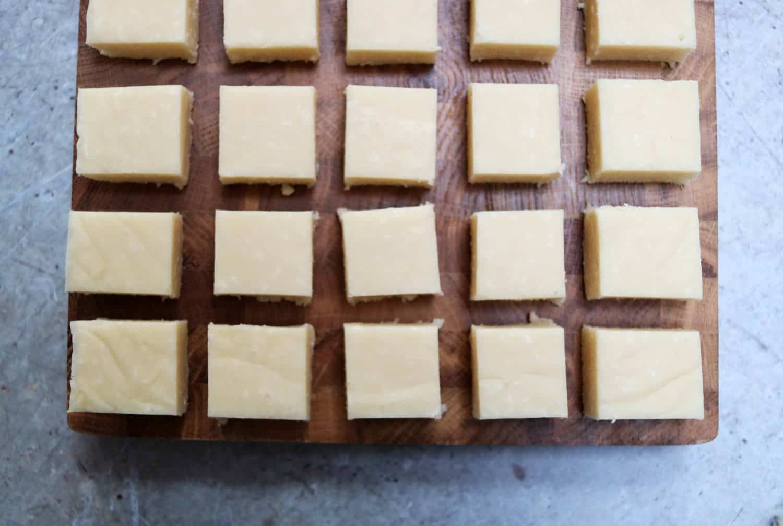 Vegan Dairy Free Slow Cooker Coconut Fudge