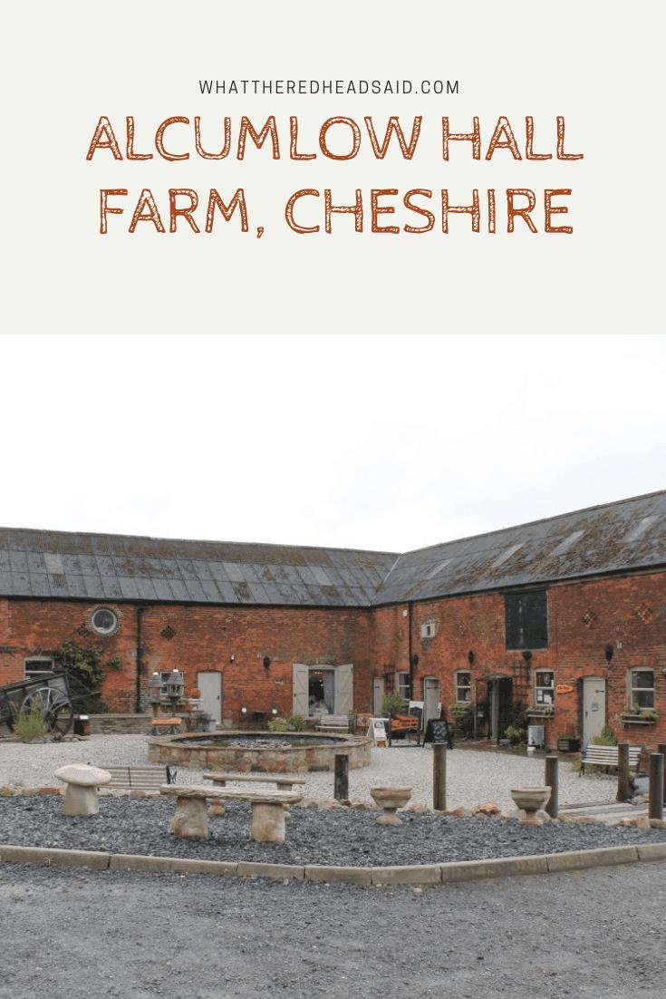 Alcumlow Hall Farm, Cheshire