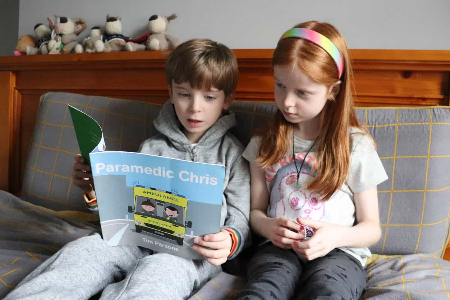Teaching Children about Emergency Services with Paramedic Chris