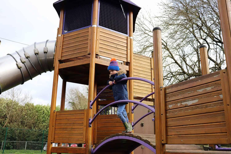 Play area at Rickmansworth Aquadrome