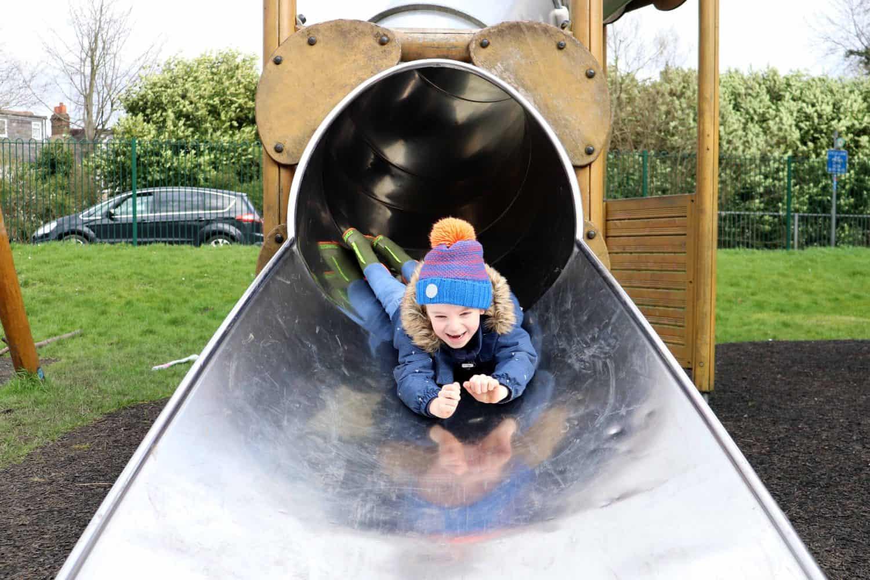 Slide at Rickmansworth Aquadrome