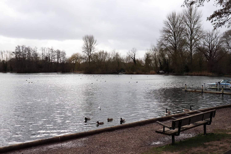 Rickmansworth Aquadrome Lake
