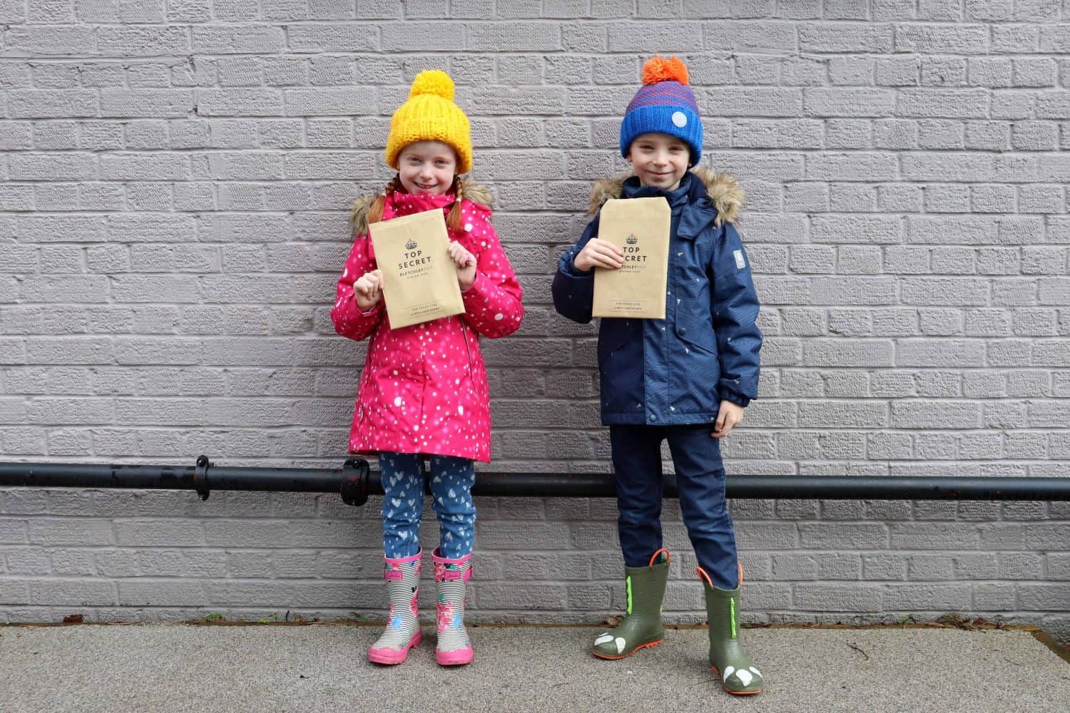 A Family Day Out at Bletchley Park with Activity Packs