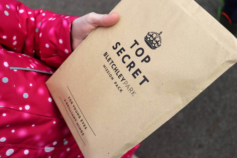 £1 children's activity packs at Bletchley Park