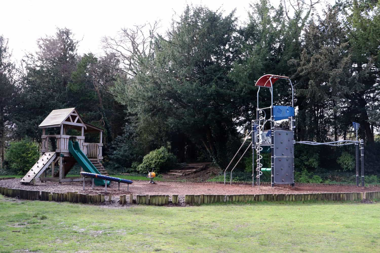 The play area at Bletchley Park
