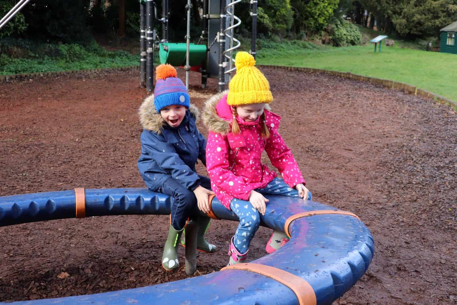 A Family Day Out at Bletchley Park playground