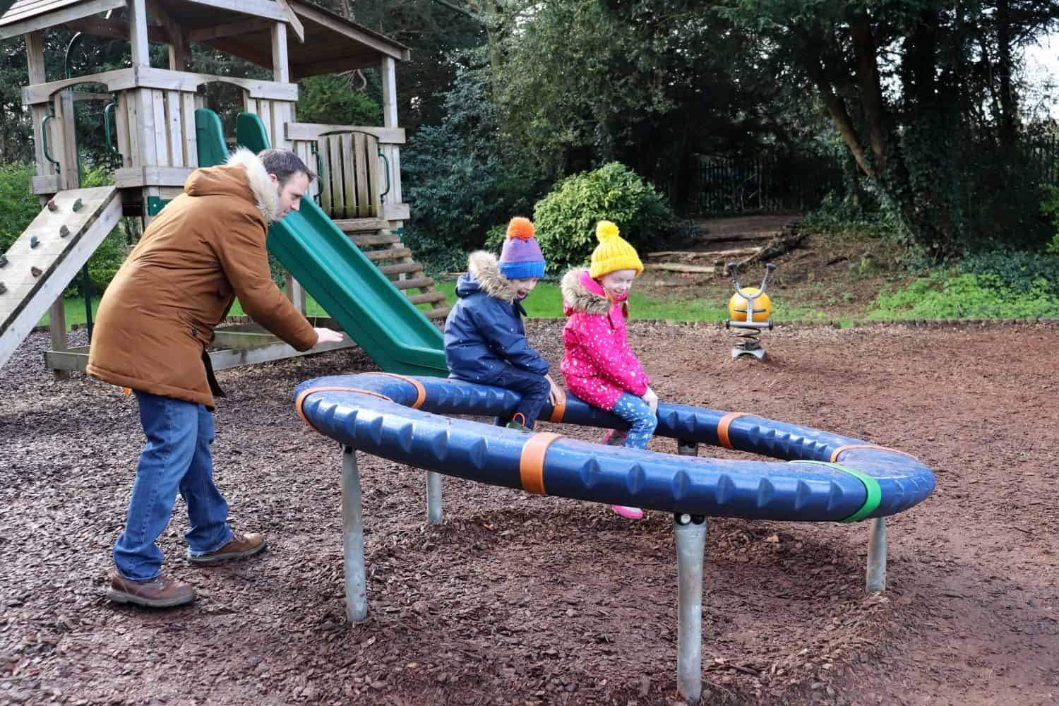 The playground at Bletchley Park