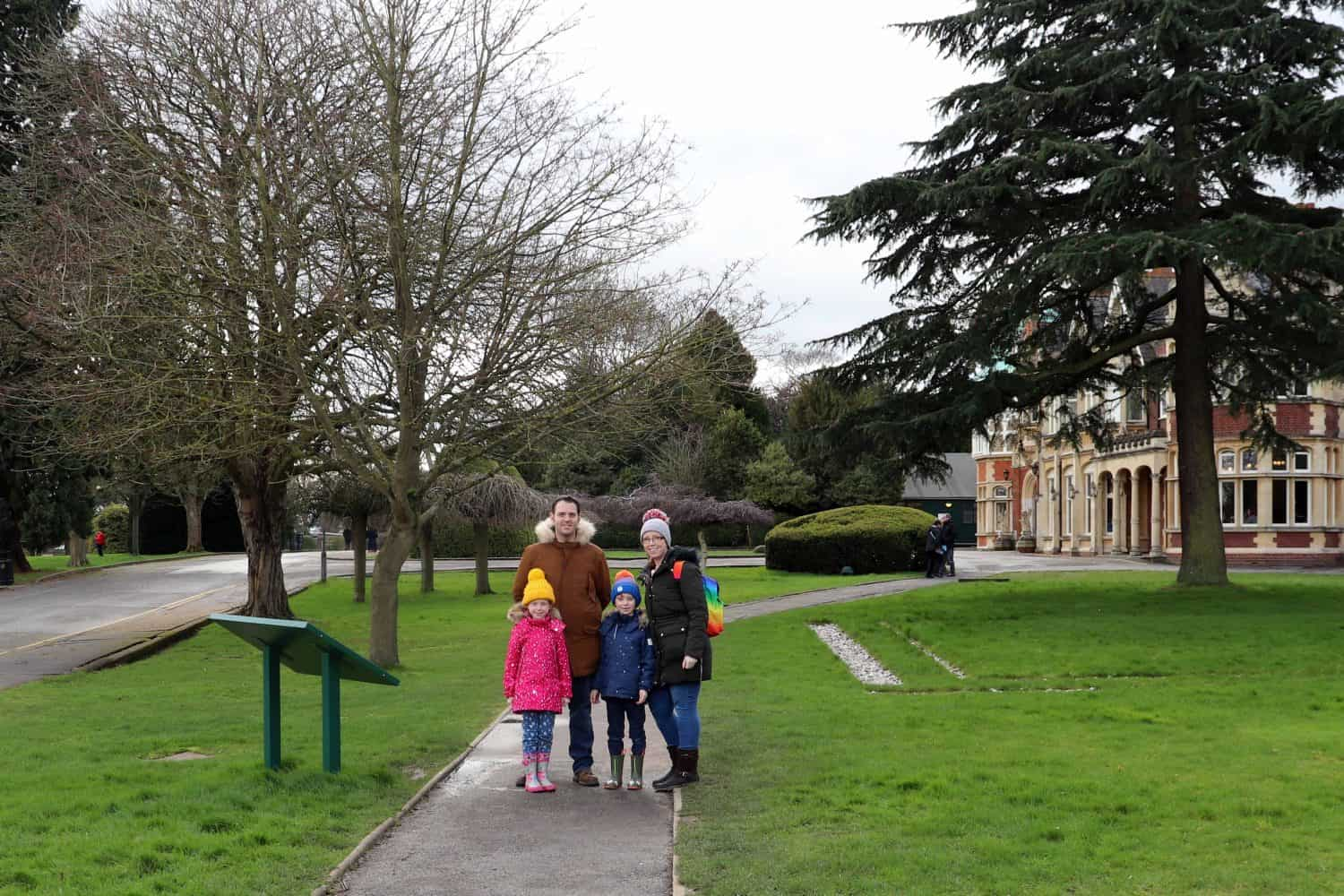 A Family Day Out at Bletchley Park