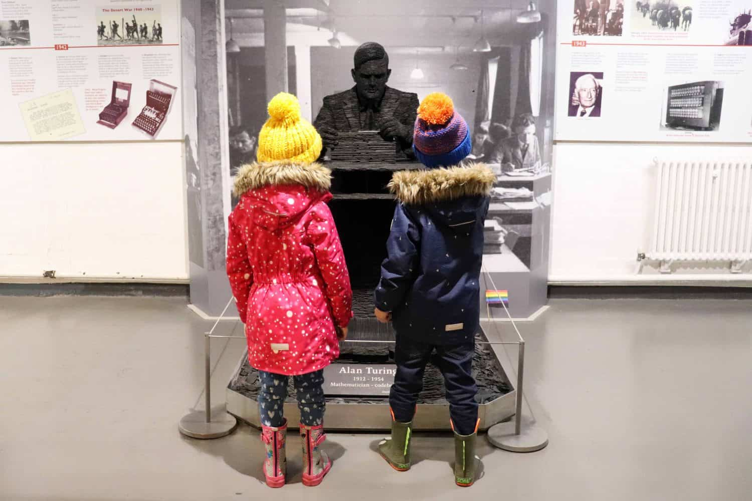 Learning about Alan Turing at Bletchley Park