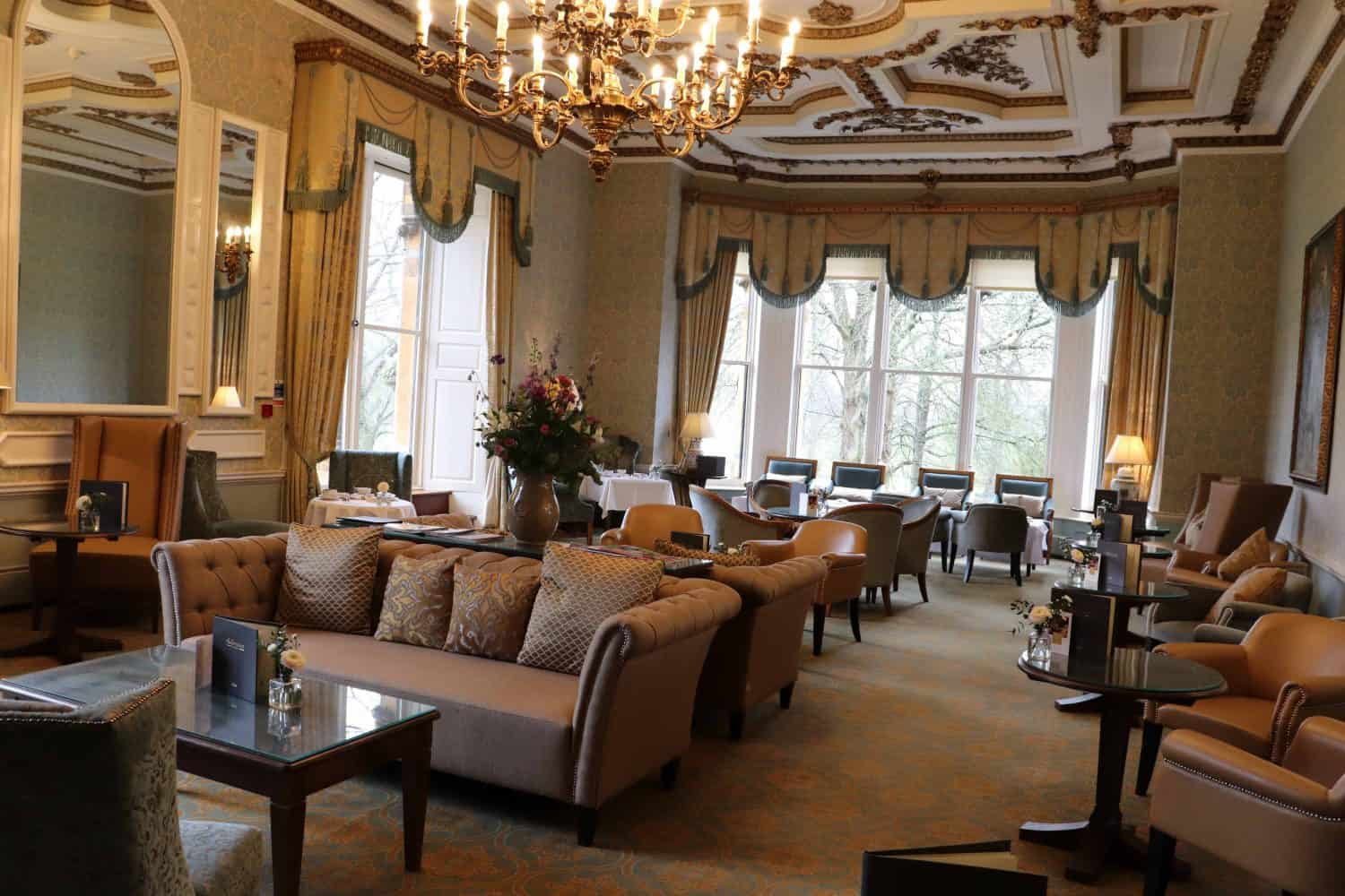 The Great Drawing Room at Ettington Park Hotel - Stratford Upon Avon