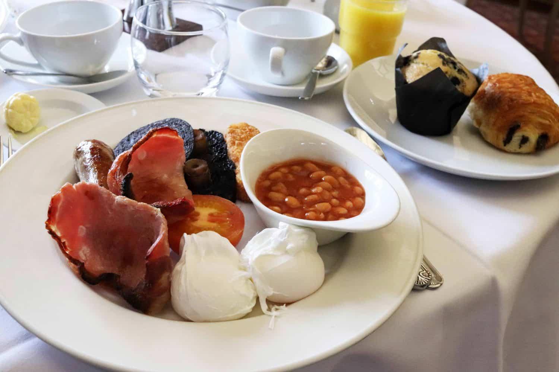 Breakfast at Ettington Park Hotel - Stratford Upon Avon