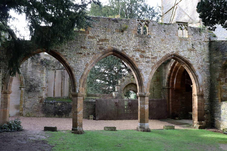 Chapel ruins at Ettington Park Hotel - Stratford Upon Avon