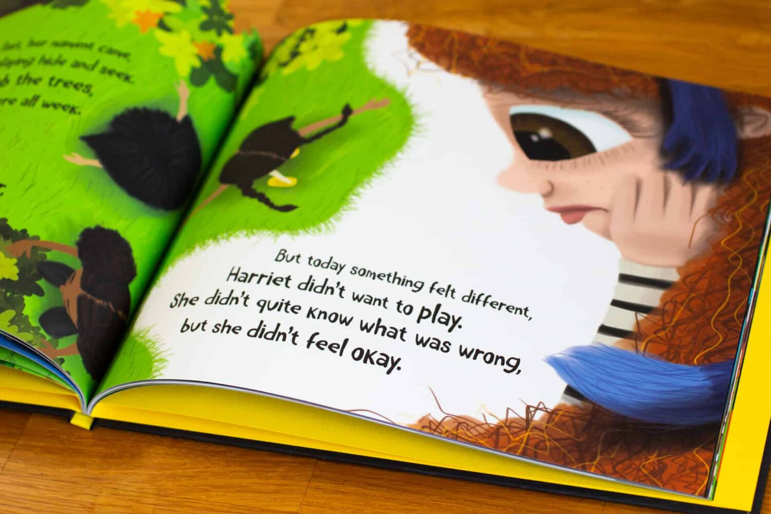 Helping Kids to Talk About Their Feelings with Harriet and the Blue Monkey   AD
