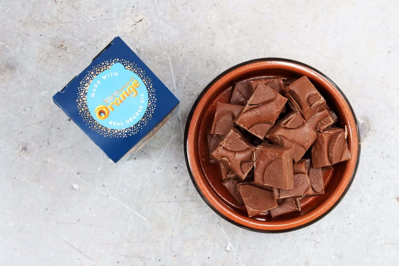 Slow Cooker Terry's Chocolate Orange Fudge