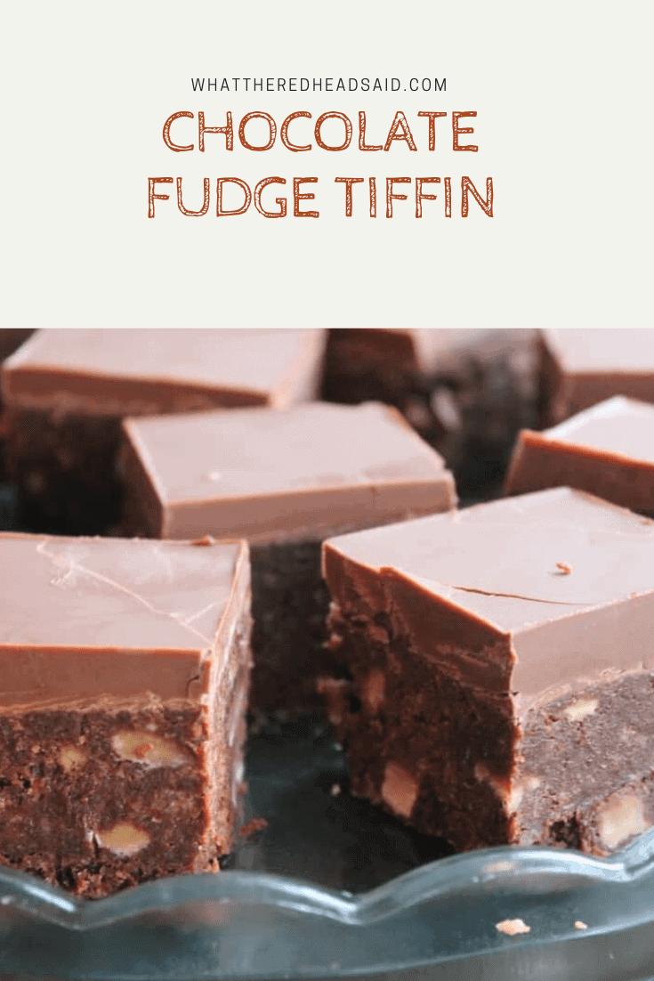 Chocolate Fudge Tiffin