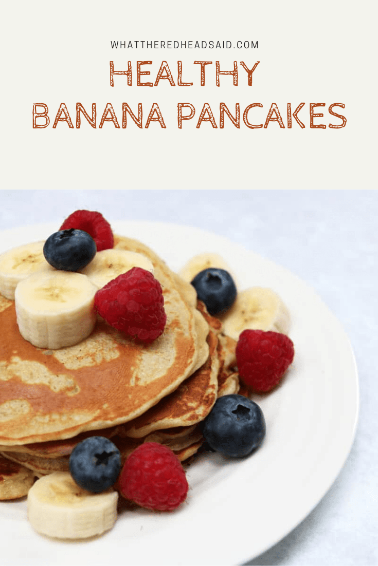 Healthy Banana Pancakes Recipe - Extra Protein for your Family | AD