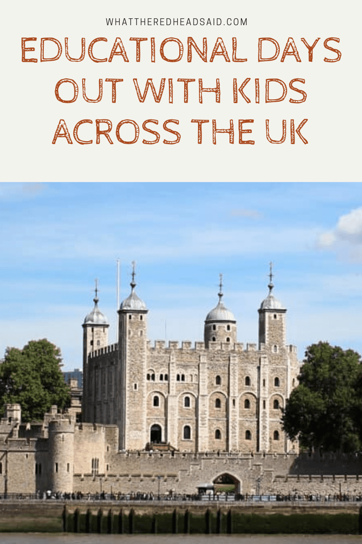 Educational Days Out with Kids Across the UK