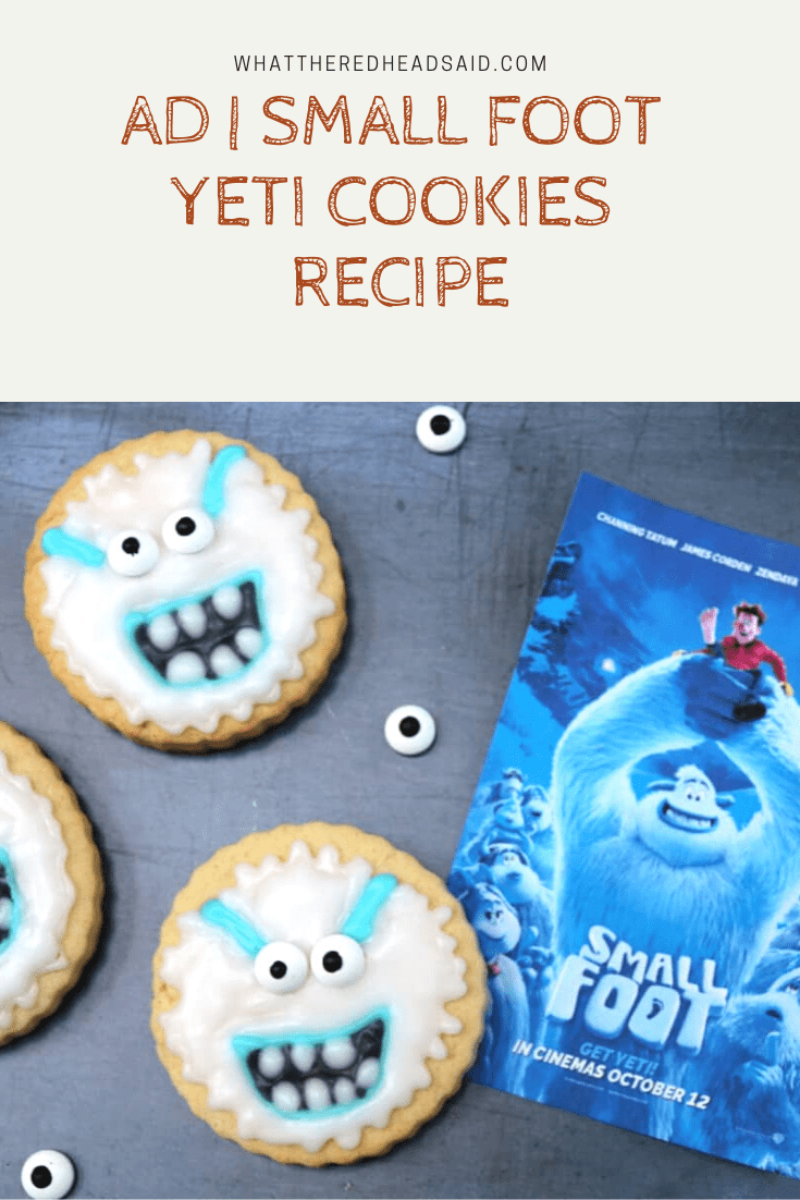 Celebrating the Launch of Small Foot with a Yeti Cookies Recipe | AD