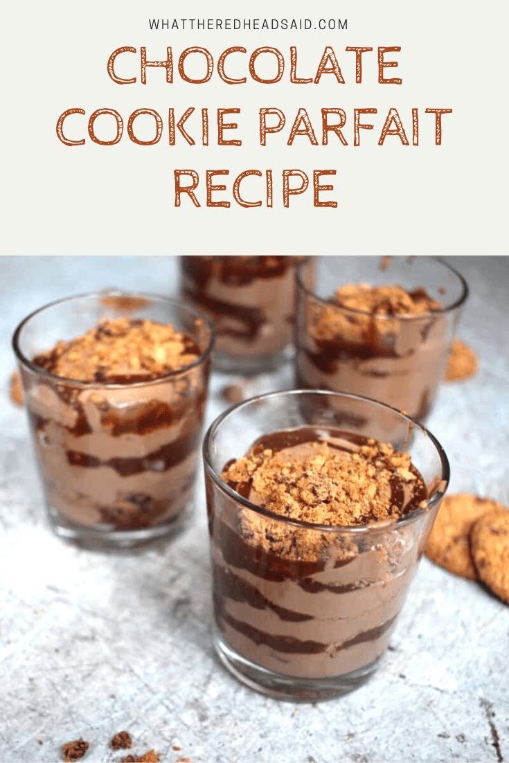Chocolate Cookie Parfait Recipe