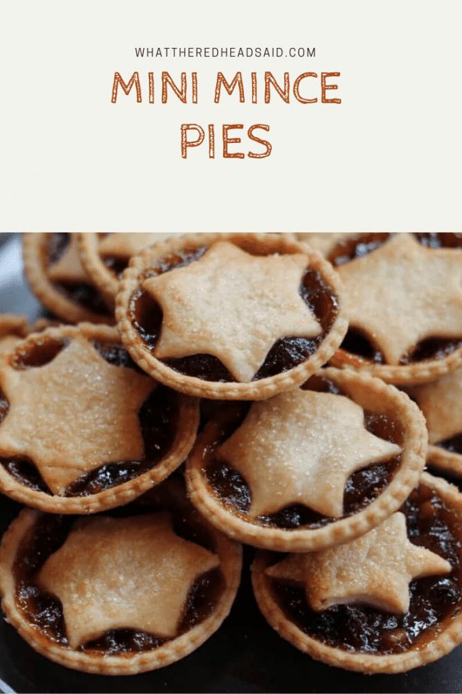 Mini Mince Pies Recipe - Family Favourite
