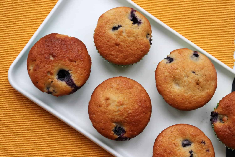 Banana Blueberry Fairy Cakes